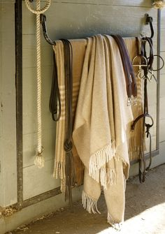Equestrian Decorating Ideas | Horse/Equestrian Decor Ideas / Wool Throws