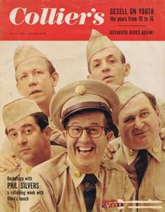 Collier's Magazine with the cast of The Phil Silvers Show