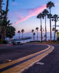 ♡ 𝓼𝓮𝓻𝓮𝓷𝓭𝓲𝓹𝓲𝓽𝔂 ♡ San Clemente, Serendipity, Sunsets, Cali, Sony, Country Roads, Street, Pretty, Instagram