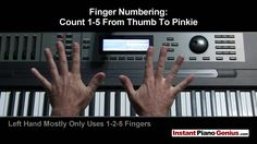 Chords - Learn To Play Piano Instantly: #1 Beginning Training (Pro Shortcuts)  (using the number system)