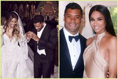 Ciara And Russell Wilson Wedding Pictures - Bip America News