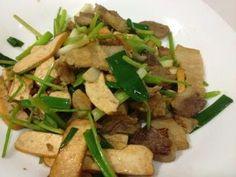 Hong Kong Life (一個集婚姻,婚禮, 愛情, 自家菜食譜, 育兒, 音樂, 散文..的網站): 芹菜豆干回鍋肉