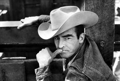 "Montgomery Clift from ""The Misfits"""