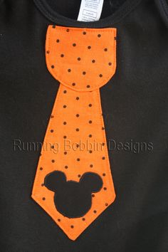 Halloween Mickey Mouse Disney Outfit Baby by RunningBobbinDesigns, $17.95