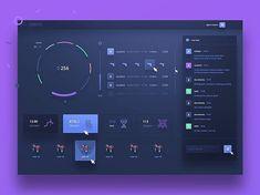 Professional Web Design Tips Dashboard Interface, Web Dashboard, Ui Web, Dashboard Design, User Interface Design, Ui Ux Design, Dashboard Examples, Graphic Design, Material Design