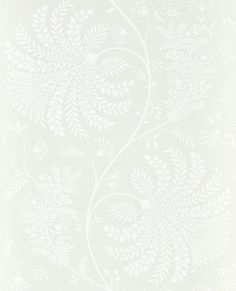 Sanderson Mapperton Chalk Wallpaper main image