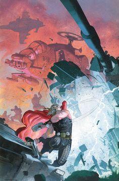 Thor - God of Thunder #21 by Esad Ribic *