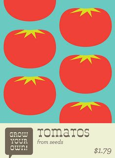 Tomato Seeds by EVRT Studio, via Flickr