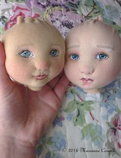 marianne cornish art dolls in progress....