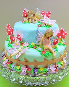 Confections, Cakes & Creations!: A Fairy Garden Cake!