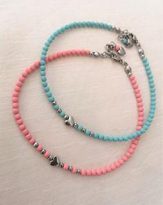 Cute Jewelry, Body Jewelry, Jewelry Gifts, Handmade Jewelry, Bead Jewellery, Beaded Jewelry, Beaded Bracelets, Jewelry Patterns, Bracelet Patterns