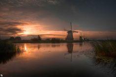 Photograph calm at sunrise by Dirk Buttgereit on 500px
