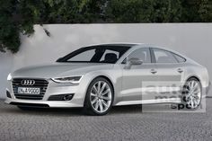 Audi A9 sportback... would you be tempted?
