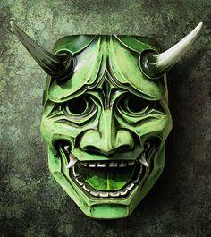 Hannya Mask 122  Japanese Noh Style Inspired by TheDarkMask