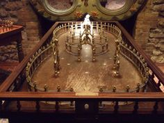 Toptafel game in the Musée des Arts Forains (Museum of Carnival Arts)