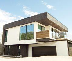 House in Kristiansand, Norway, by Arkide Arkitektur.