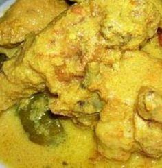 Indisch eten!: Ajam besengek: Indonesische kip in kruidige kokosm...
