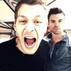 #TO The Originals Joseph Morgan(Klaus) & Daniel Gillies(Elijah)