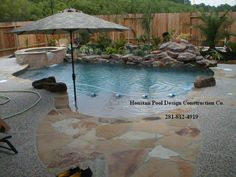 pools | Swimming Pools - Houston Swimming Pool Builder and Spa & Waterfall ...