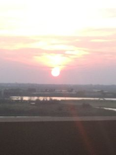 Sunset in Atlantic City, New Jersey