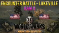 This is an Encounter Battle taking place at Lakeville map with Ram II tank in World of Tanks: Xbox 360 Edition, won with 1060 experience.