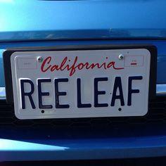 REELEAF #Ev #vanityplate #nissanleaf #personalizedplate #electriccar #kickgas | Flickr - Photo Sharing!