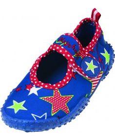 Buty kąpielowe z filtrem UV Gwiazdki