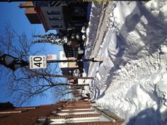 Snow Day!! Record: 45 cm in just one day!... Montreal, Canada