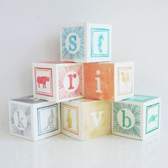 Animal Alphabet Cupcake Boxes