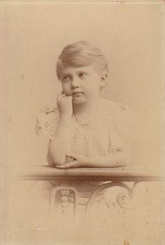 Prinzessin Marie Luise von Hannover, später Prinzessin von Baden als junges Mädchen | Flickr - Photo Sharing!