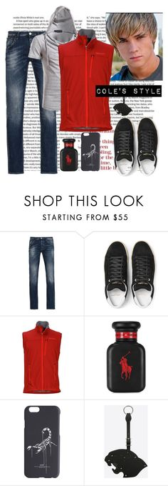 """""""Cole Gabriel in 'Living like Cowboys'"""" by iwannabeabby ❤ liked on Polyvore featuring Armani Jeans, Yves Saint Laurent, Marmot, Ralph Lauren, Off-White, men's fashion and menswear"""