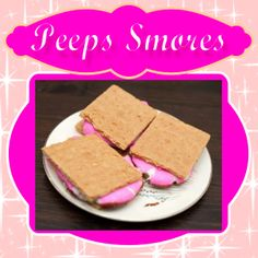 Oven baked Peeps Smores you can enjoy any time.