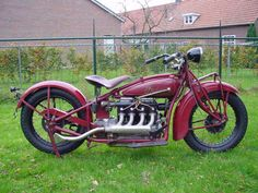 Old Indian Motorcycle - (1928)