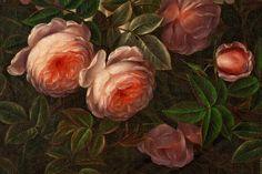 Jensen,Johan,Laurentz,Still,Life,Roses