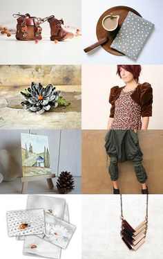 EarThiNesS by Pascale on Etsy--Pinned with TreasuryPin.com
