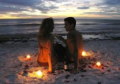 Rose petals are a bit much lol, but laying on the beach at sunset will be wonderful with Storm