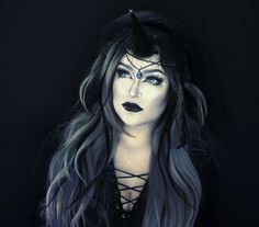 Dark unicorn. #unicorn #makeup #unicornmakeup #halloween #costume #idea #fx #fxmakeup #dark #epicerin Instagram @realepicerin