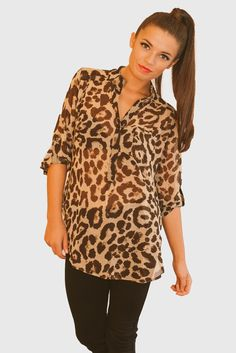 Fall Fashion Trend Alert-Animal Print Is Hot For Fall!