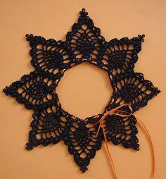 BellaCrochet: Pineapple Pumpkin Lace: A Free Crochet Pattern