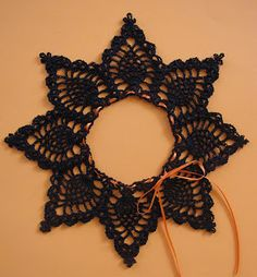 BellaCrochet: Pineapple Pumpkin Lace: A Free Crochet Pattern