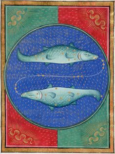 Pisces | Book of Hours | ca. 1473 | The Morgan Library & Museum