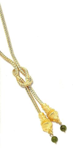 Jacqueline Kennedy Lioness Knot Necklace by Camrose and Kross