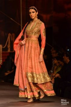 J J http://www.Valaya.com/home.html at Indian Bridal Fashion Week, 2013