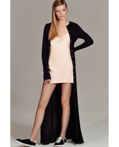 e7c5b7c2dcd8 Image 1 of LONG STUDIO DRESS from Zara Long Slip Dress