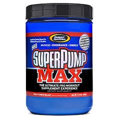Super Pump Max 1.41lb. by Gaspari Nutrition