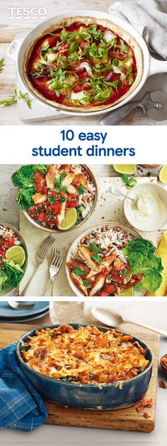 22 cheap and easy student lunch ideas for university cucumber get set for uni with these easy student dinner recipes including quick pizzas simple forumfinder Gallery