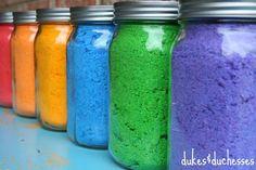 DIY Color Powder {for a Color Fight}