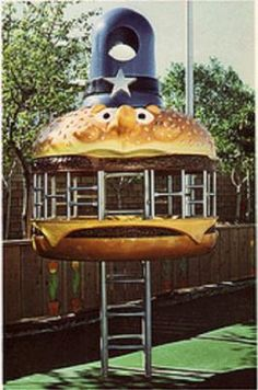Oh! How I loved playing at the McDonald's playground when I was a kid.