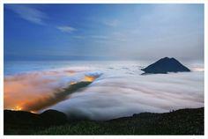Real cloudsea