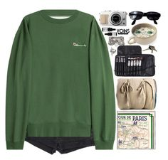 """Yoins // Paris"" by ritaflagy ❤ liked on Polyvore featuring Yves Saint Laurent, Vetements, Soicher Marin, The Elder Statesman, Persol and Odacité"